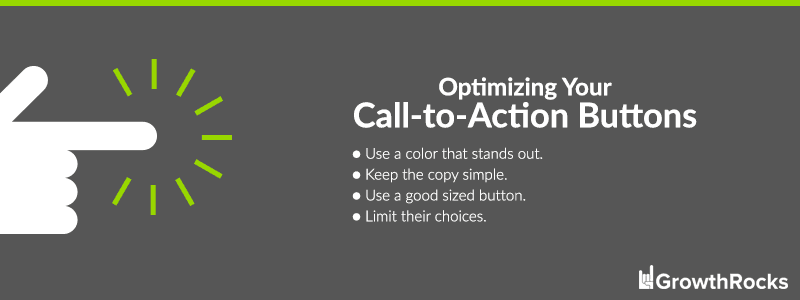 Optimizing Call-to-Action Buttons