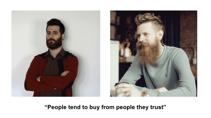 Why people tend to buy from people they trust? #growthhacking