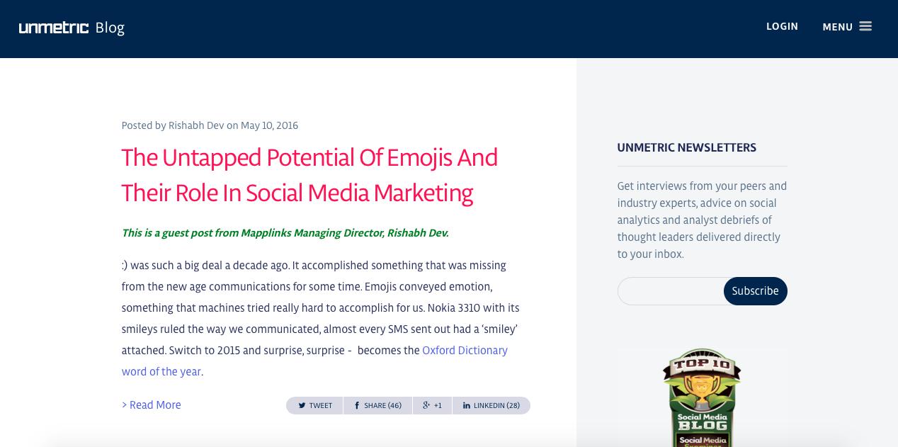 social media & pr blog