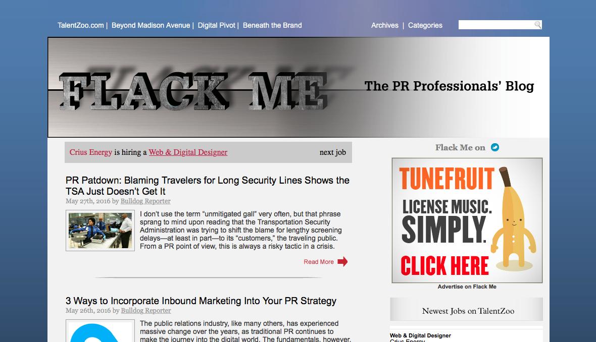 social media and pr blogs