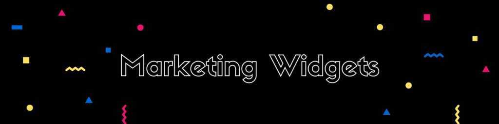 Marketing widgets - referral marketing tactics