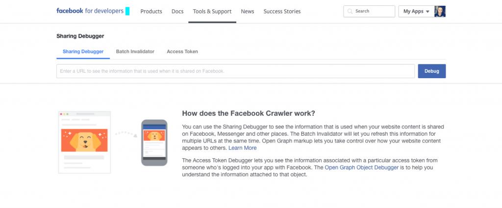 Facebook Open Graph Debugger- referral marketing