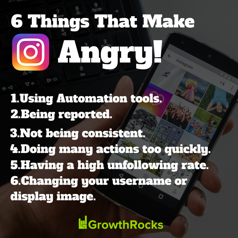 You can't hack your Instagram's Growth