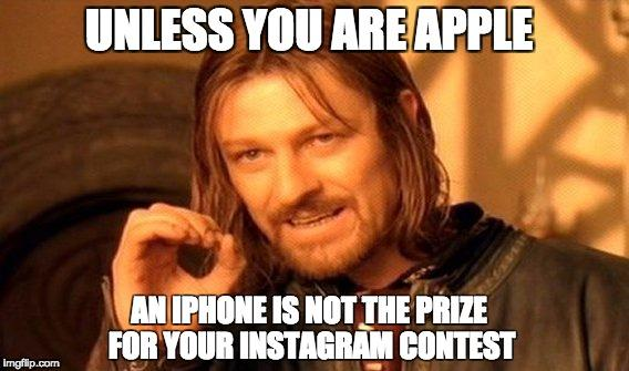How to nail Instagram contests