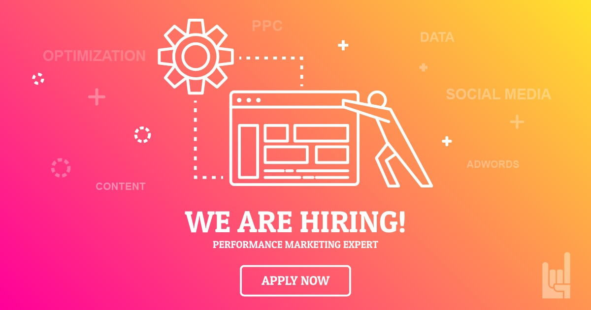 we are hiring performance marketing expert