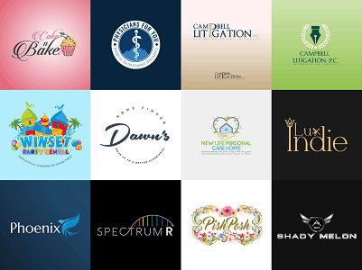 Custom logos for small business branding